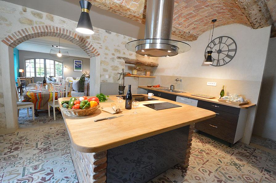 Mas Antonin La Garde Adhémar - Cuisine
