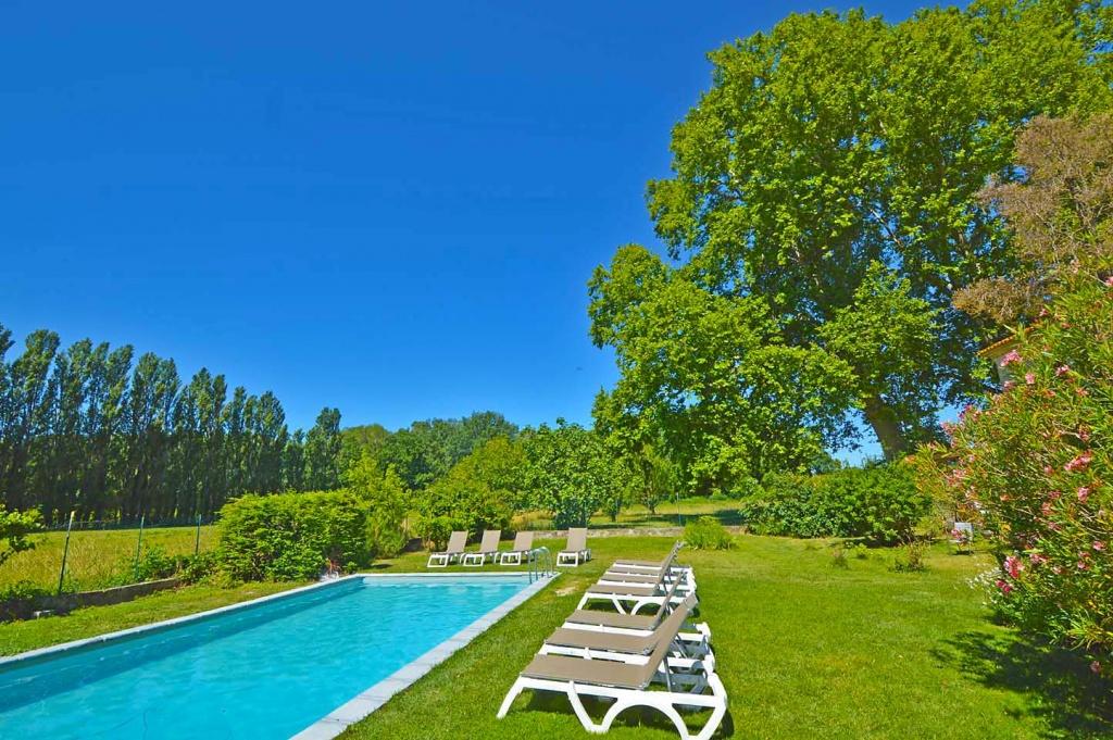 Mas du Fer à Cheval piscine et vue 2019